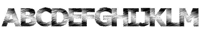 Plutonium Font UPPERCASE