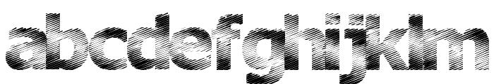 Plutonium Font LOWERCASE