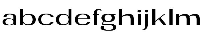 plus Font LOWERCASE