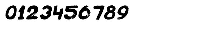 Plakkaat Italic Font OTHER CHARS