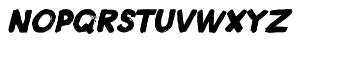 Plakkaat Italic Font UPPERCASE