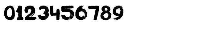 Plakkaat Regular Font OTHER CHARS
