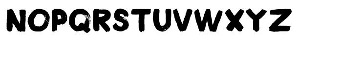 Plakkaat Regular Font LOWERCASE