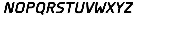 Planer Bold Italic Font UPPERCASE