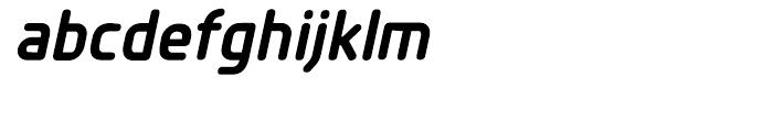 Planer Bold Italic Font LOWERCASE