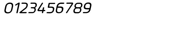 Planer Medium Italic Font OTHER CHARS