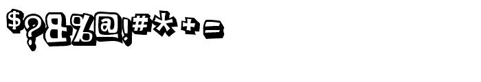 Planet Benson 2 Regular Font OTHER CHARS