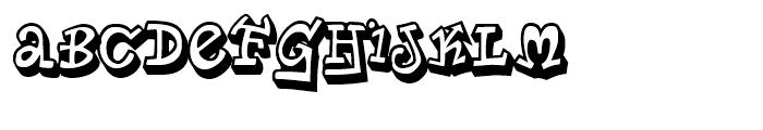 Planet Benson 2 Regular Font UPPERCASE