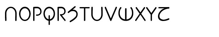 Planet Sans Book Font UPPERCASE