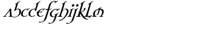 Planet Serif Bold Italic Font LOWERCASE