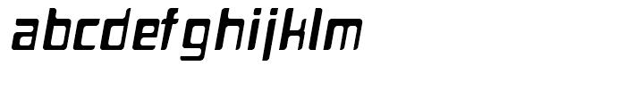Planetor Italic Font LOWERCASE