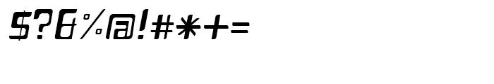 Planetor Light Italic Font OTHER CHARS