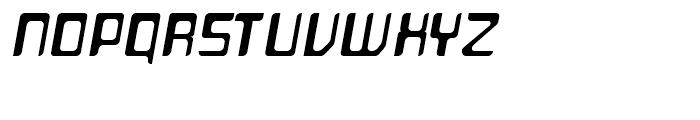 Planetor Light Italic Font UPPERCASE