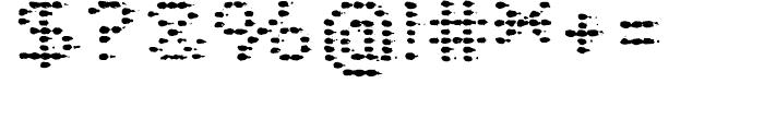 Plasterboard Regular Font OTHER CHARS