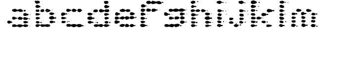 Plasterboard Regular Font LOWERCASE