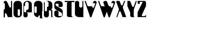 Plastico Regular Font UPPERCASE