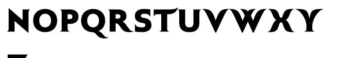 Plastilin Black Font UPPERCASE