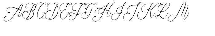 Plates Napery Regular Font UPPERCASE