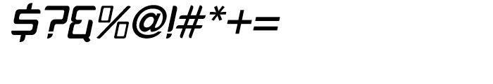PlatformOne Medium Italic Font OTHER CHARS