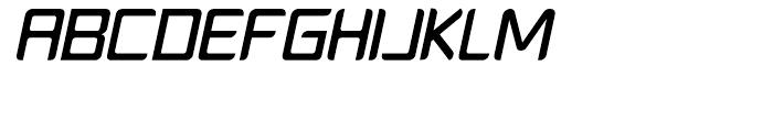 PlatformOne Medium Italic Font UPPERCASE