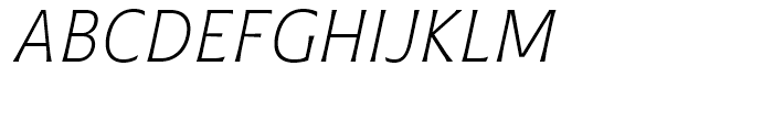 Plathorn Condensed Light Italic Font UPPERCASE