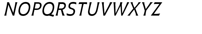 Plathorn Condensed Regular Italic Font UPPERCASE