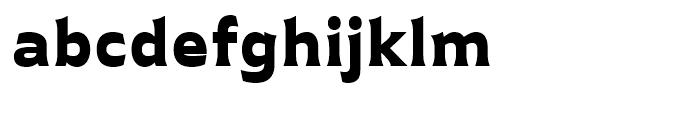 Plathorn Extended Black Font LOWERCASE