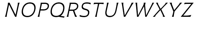 Plathorn Extended Book Italic Font UPPERCASE