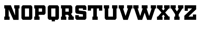 Player Black Font LOWERCASE