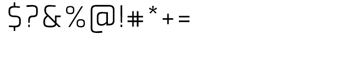 Plexes Pro Light Font OTHER CHARS