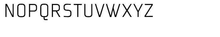 Plexes Pro Light Font UPPERCASE