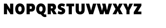 Pluto Sans Condensed Black Font UPPERCASE