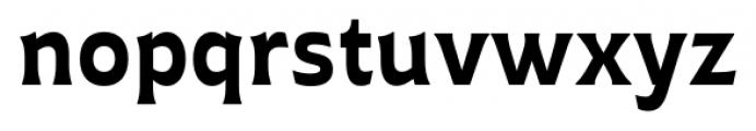 Plathorn Bold Font LOWERCASE