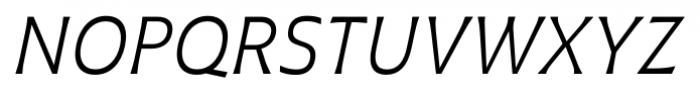 Plathorn Book Italic Font UPPERCASE