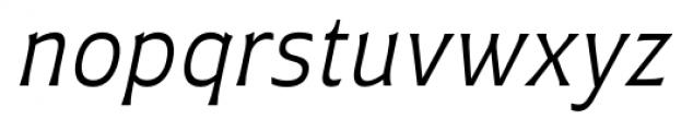 Plathorn Book Italic Font LOWERCASE