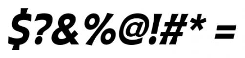 Plathorn Condensed Black Italic Font OTHER CHARS