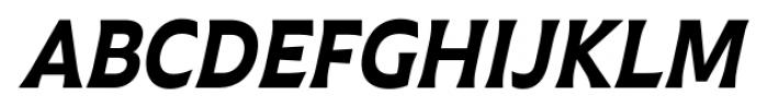Plathorn Condensed Black Italic Font UPPERCASE