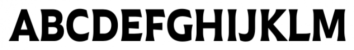 Plathorn Condensed Black Font UPPERCASE