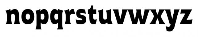Plathorn Condensed Black Font LOWERCASE
