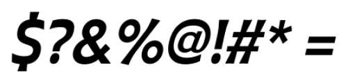 Plathorn Condensed Bold Italic Font OTHER CHARS