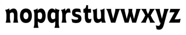 Plathorn Condensed Bold Font LOWERCASE