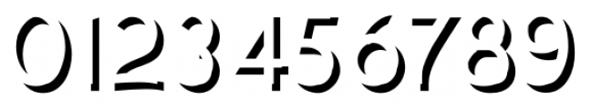 Plebia Embossed Font OTHER CHARS