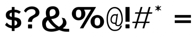 Plebia Sans Bold Font OTHER CHARS