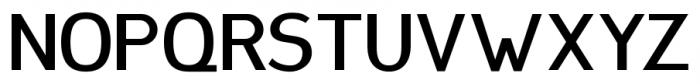 Plebia Sans Bold Font UPPERCASE