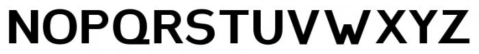 Plebia Sans Bold Font LOWERCASE
