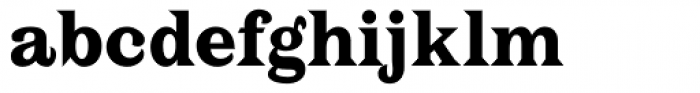 PL Latin Bold Font LOWERCASE