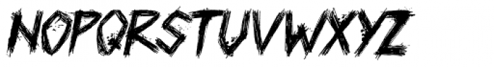 Plague Master Italic Font LOWERCASE