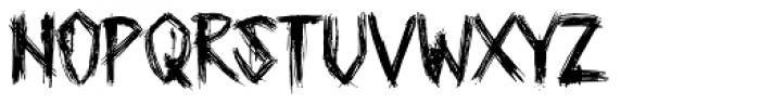 Plague Master Font UPPERCASE