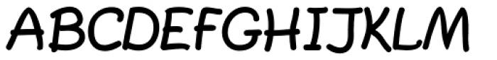 PlainPensle ExtraBold Font UPPERCASE