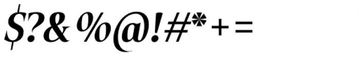 Plaisir Bold Italic Font OTHER CHARS